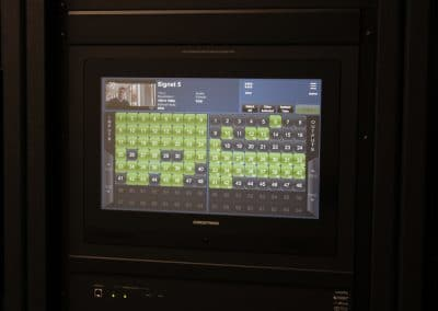 Crestron DM 128 Touchpanel